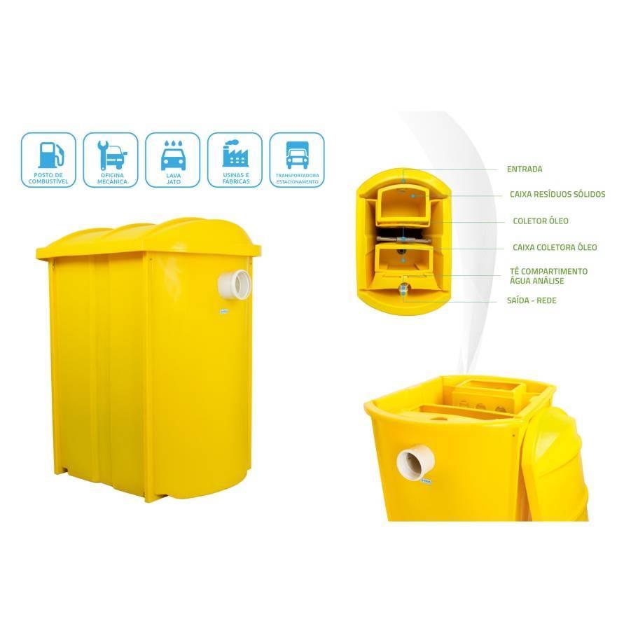 Caixa Separadora de Água e Óleo 1500L/h Puro Diesel - CASA DO FRENTISTA