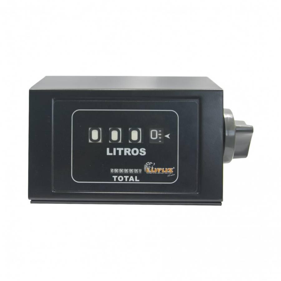 Numerador de Medidor Mecânico com Capa 4 Dig Lupus 2100-NMC - CASA DO FRENTISTA
