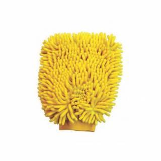Esponja Tipo Luva em Microfibra Amarela 250x180mm Lupus 0365