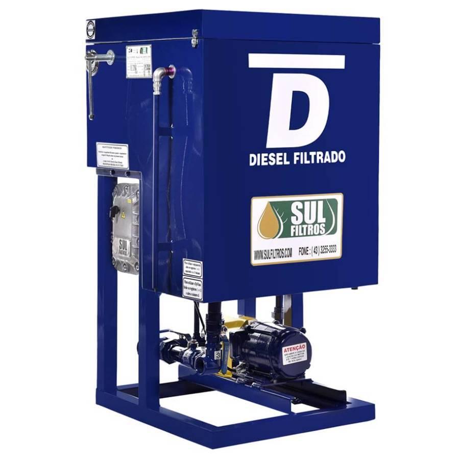 Filtro Prensa de Pista para Diesel Flash I Sul Filtros Azul - CASA DO FRENTISTA