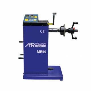 Balanceadora Manual de Rodas 10 a 24 Pol 220V Ribeiro Azul