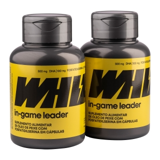 in-game leader Whiz - Kit 2 potes - 950mg 60 cápsulas por pote
