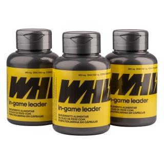 in-game leader Whiz - kit 3 potes - 950mg 60 cápsulas por pote