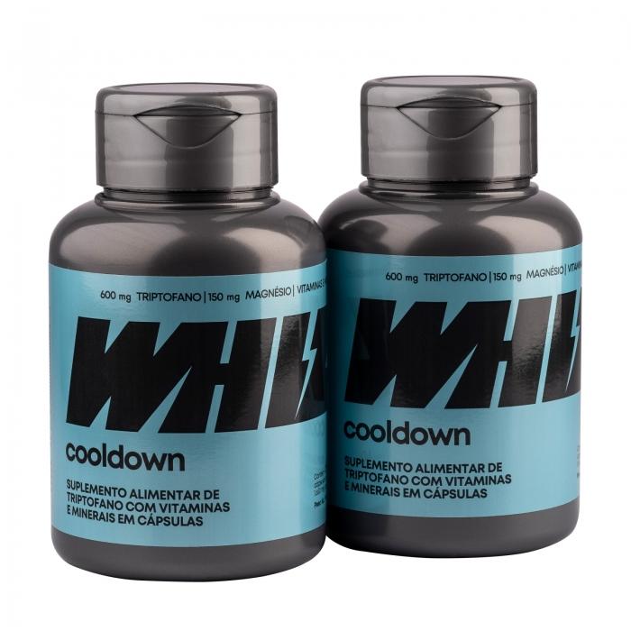 cooldown Whiz - kit 2 potes - 1.650mg 60 cápsulas por pote - Whiz
