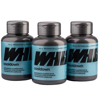cooldown Whiz - kit 3 potes - 1.650mg 60 cápsulas por pote