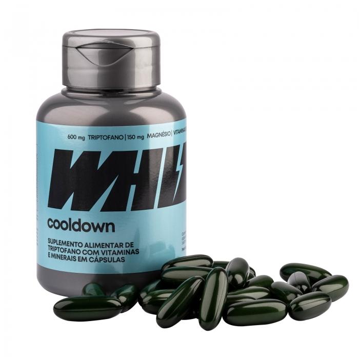cooldown Whiz 2 potes - 1.650mg 60 cáps/pote + máscara de dormir Whiz - Whiz