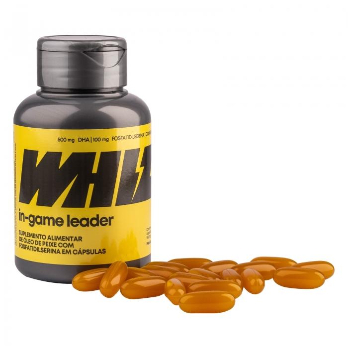 in-game leader Whiz - kit 3 potes - 950mg 60 cápsulas por pote + gorro Whiz - Whiz