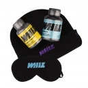 combo duo Whiz - in-game leader + cooldown + gorro + máscara de dormir
