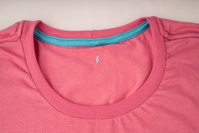 camiseta NOVO PODER Whiz baby look rosa - Whiz