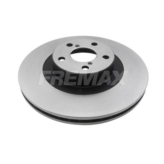 Par Dianteiro Discos de Freio Fremax Carbon+ 294x24mm WRX 01 - Street Solutions