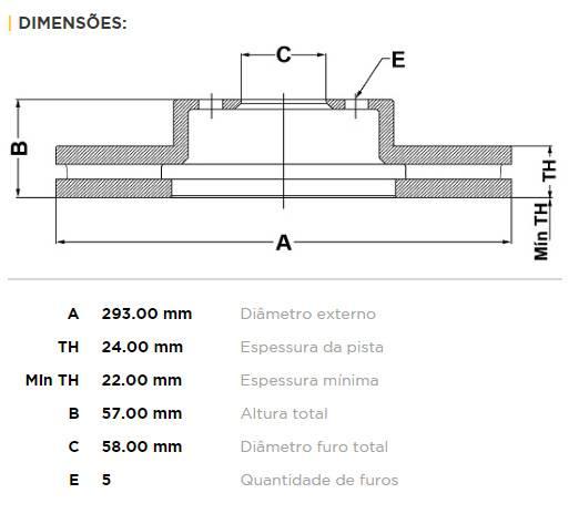 Par Dianteiro Discos de Freio Fremax Carbon+ 293x24mm Subaru - Street Solutions