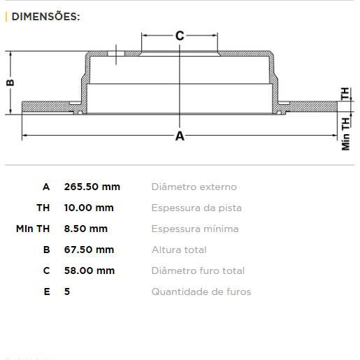 Par Traseiro Discos de Freio Fremax Carbon+ 265.5x10mm [Impreza / Legacy / Forester 93-08] - Street Solutions