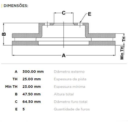Par Dianteiro Discos de Freio Fremax Carbon+ 300x25mm [Honda Civic Si 2.0L 07-11] - Street Solutions