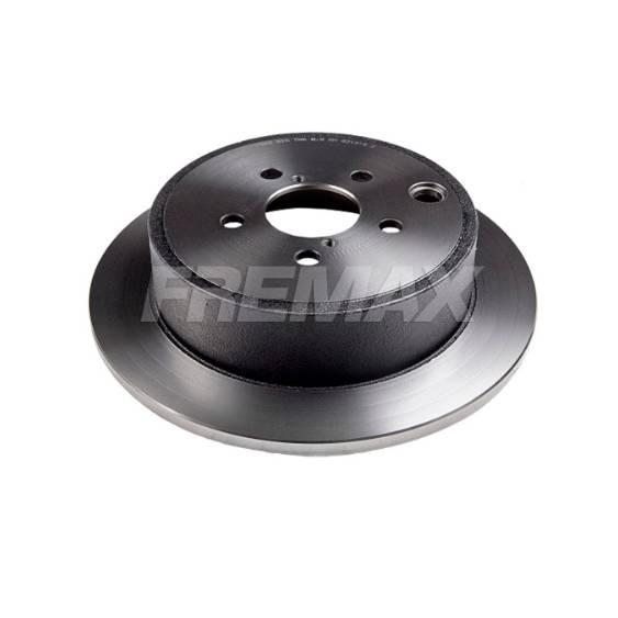 Par Traseiro Discos de Freio Fremax Carbon+ 286x10mm [WRX e Impreza 2.0L 08-14 / FXT 09-13] - Street Solutions