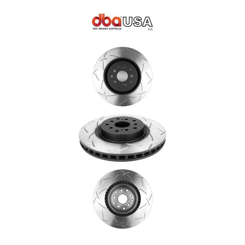 Par Dianteiro Discos de Freio DBA 4000 T-Slot - Street Solutions