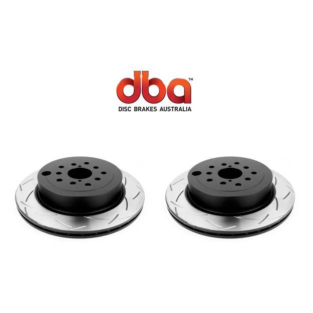 Par Traseiro Discos de Freio DBA 4000 T-Slot 316x20mm [STi 08-17] - Street Solutions