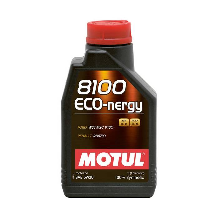 Óleo Lubrificante para Motor Motul 8100 ECO-NERGY 5W30 100% Sintético 1L - Street Solutions