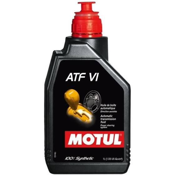 Óleo Lubrificante para Transmissão AT Motul ATF VI 100% Sintético 1L - Street Solutions