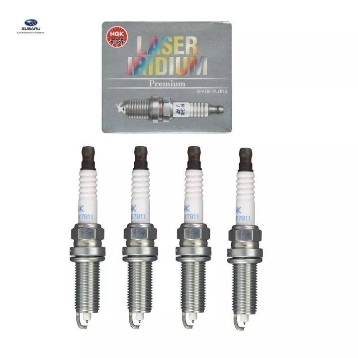 Vela de Ignição NGK Laser Iridium Grau 7 (4Pçs) - Street Solutions