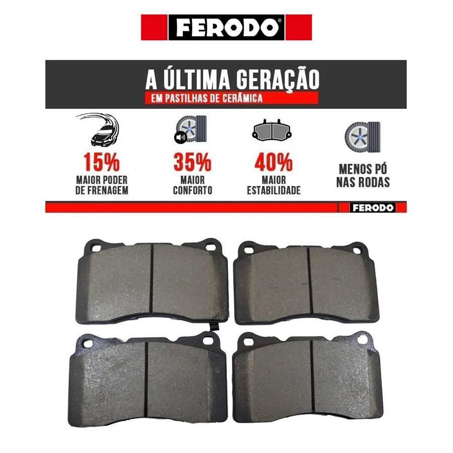 Pastilha de Freio Dianteira Ferodo Ceramic - Subaru STI / Mi - Street Solutions