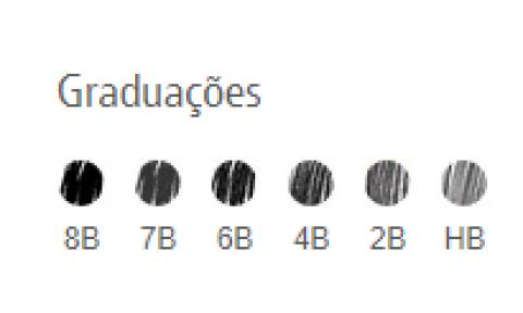 LAPIS STAEDTLER LUMOGRAPH EST METAL 6 UN - Papelaria Botafogo