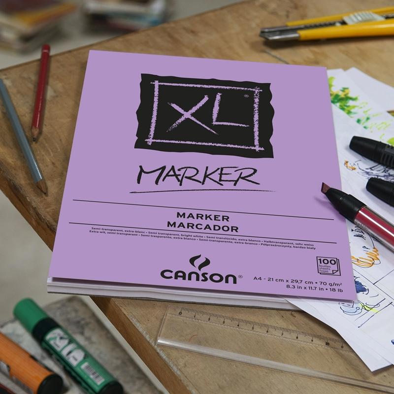 XL MARKER 100FLS A4 70G - Papelaria Botafogo