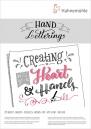 10628990 Hand Lettering, 170 gsm, A5 Bloco de Leterring