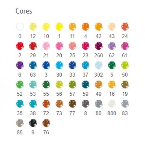Lápis Cor Staedtler Karat Aquarelável 48 cores  - Papelaria Botafogo