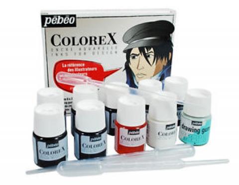 Aquarela Líquida Colorex Design Pebeo 13 peças - Papelaria Botafogo
