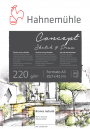 Papel Hahnemuhle Concept Sketch & Draw 220g A3 20f(19628879)