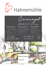 Papel Hahnemuhle Concept Sketch & Draw 220g A4 20f(19628878)