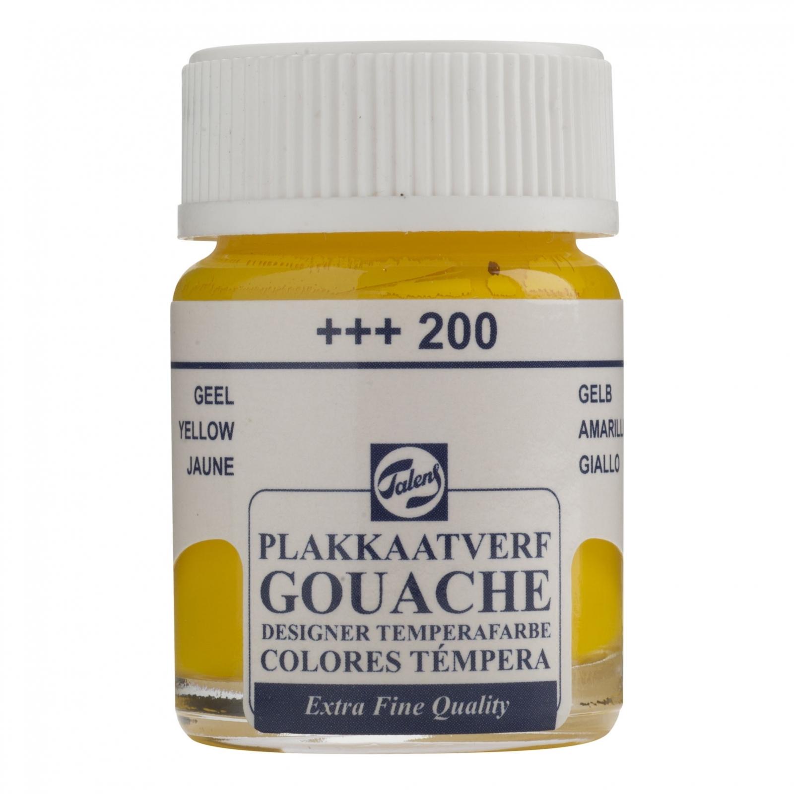 Gouache T Yellow (+++200) Amarelo - Papelaria Botafogo