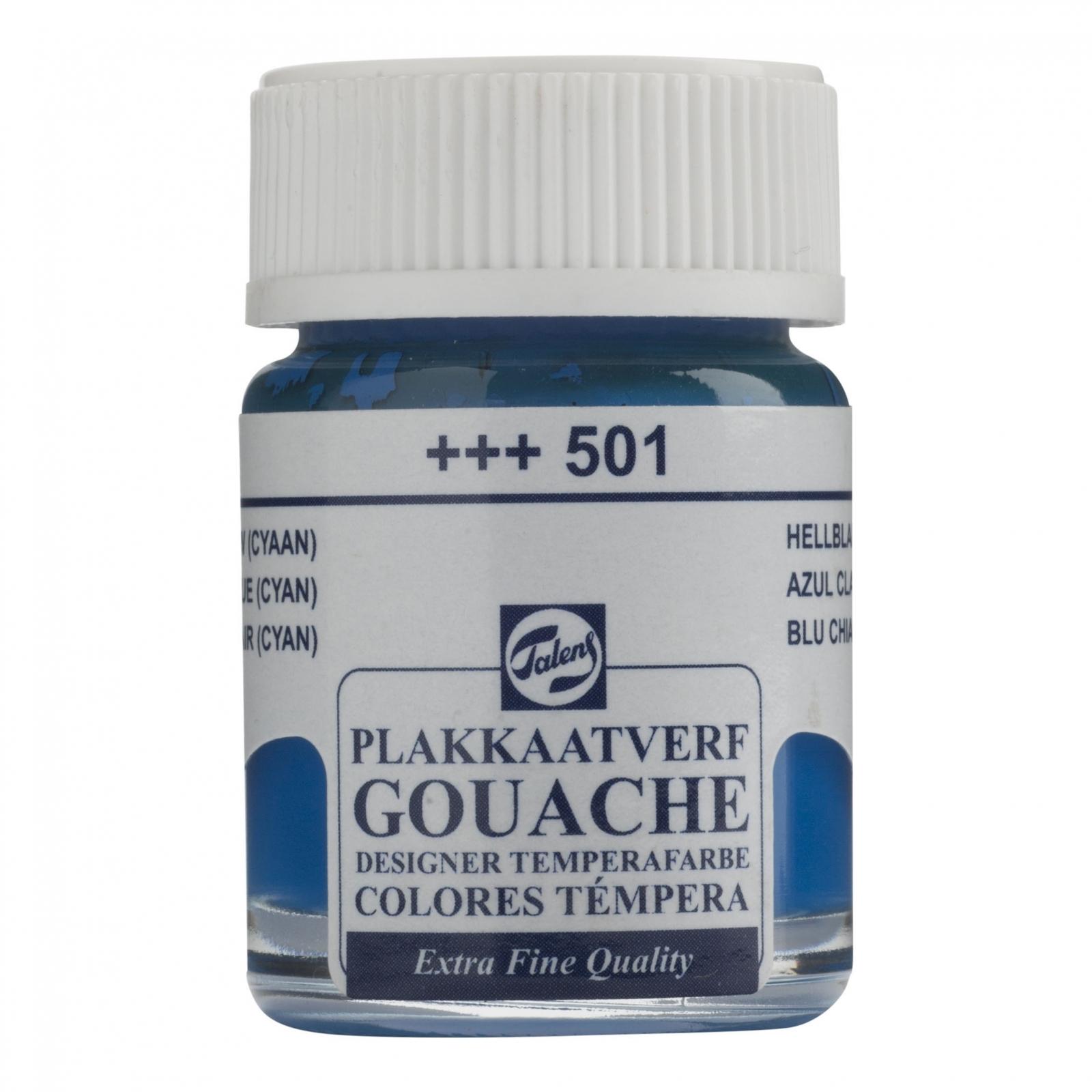 Gouache T Cyan (+++501) - Papelaria Botafogo