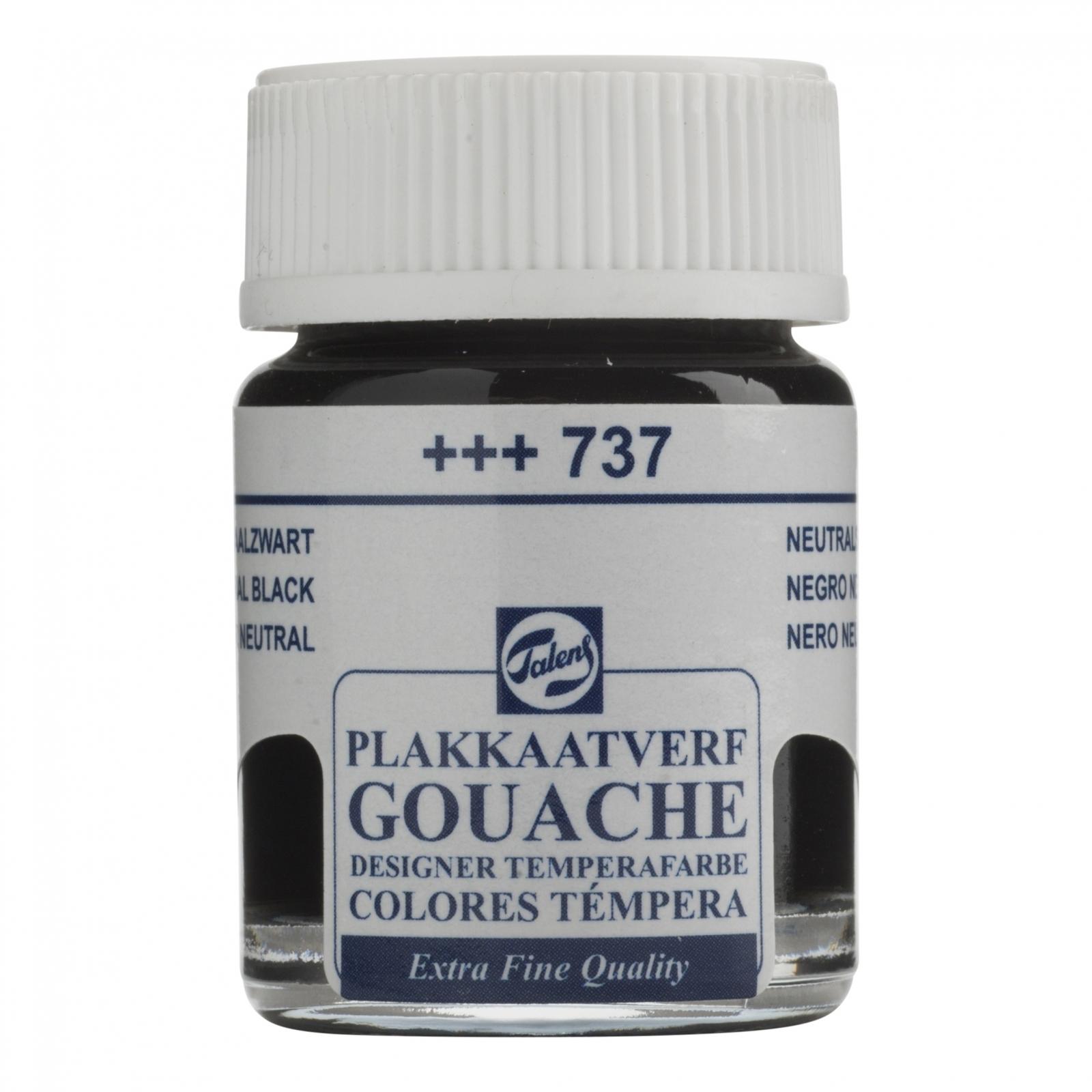 GOUACHE T NEUTRAL BLACK (+++737) - Papelaria Botafogo