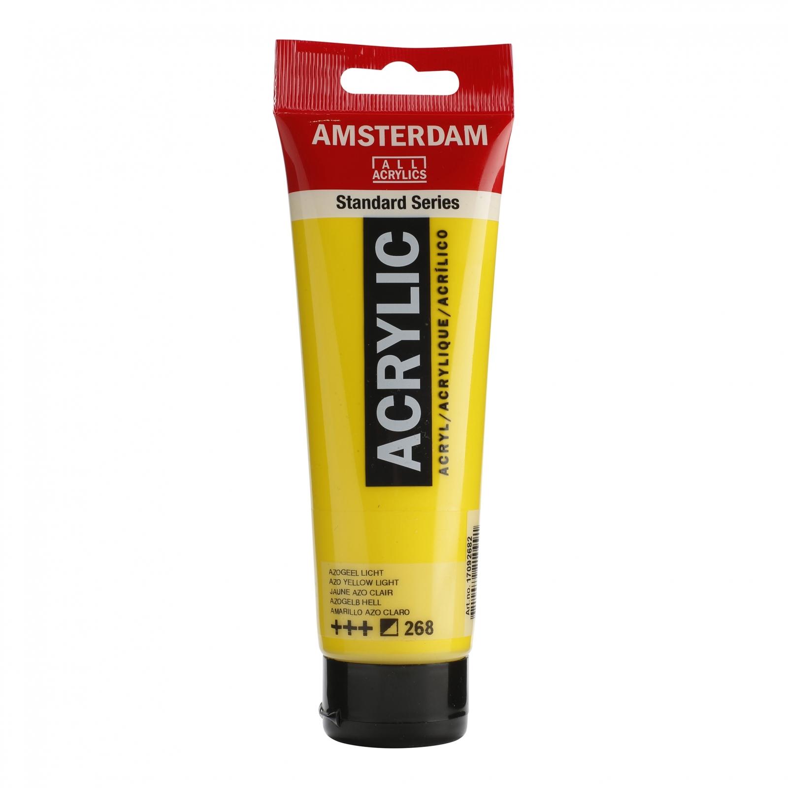 Tinta Acrílica Amsterdam Amarelo Azo Claro 120ml (+++268) - Papelaria Botafogo