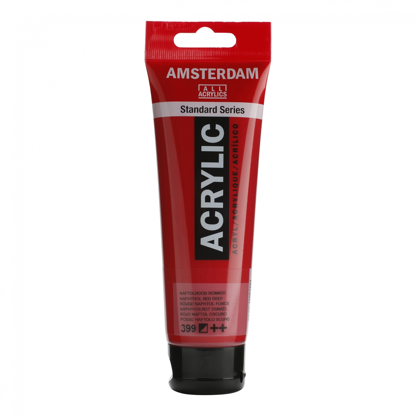 Tinta Acrílica Amsterdam Vermelho Naphthol Escuro 120ml (++399) - Papelaria Botafogo