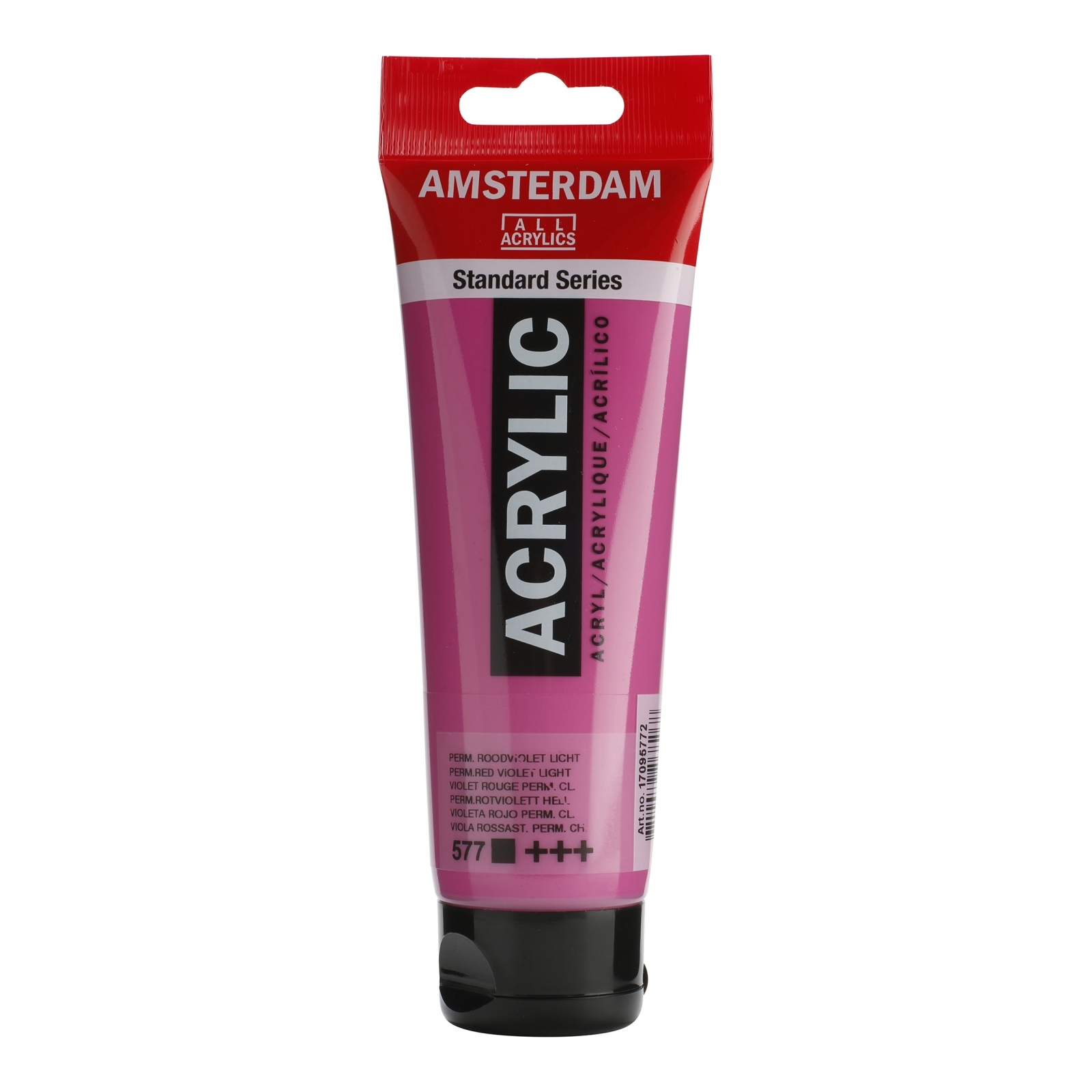 Tinta Acrílica Amsterdam Vermelho Violeta Permanente Claro Claro 120ml (+++577) - Papelaria Botafogo