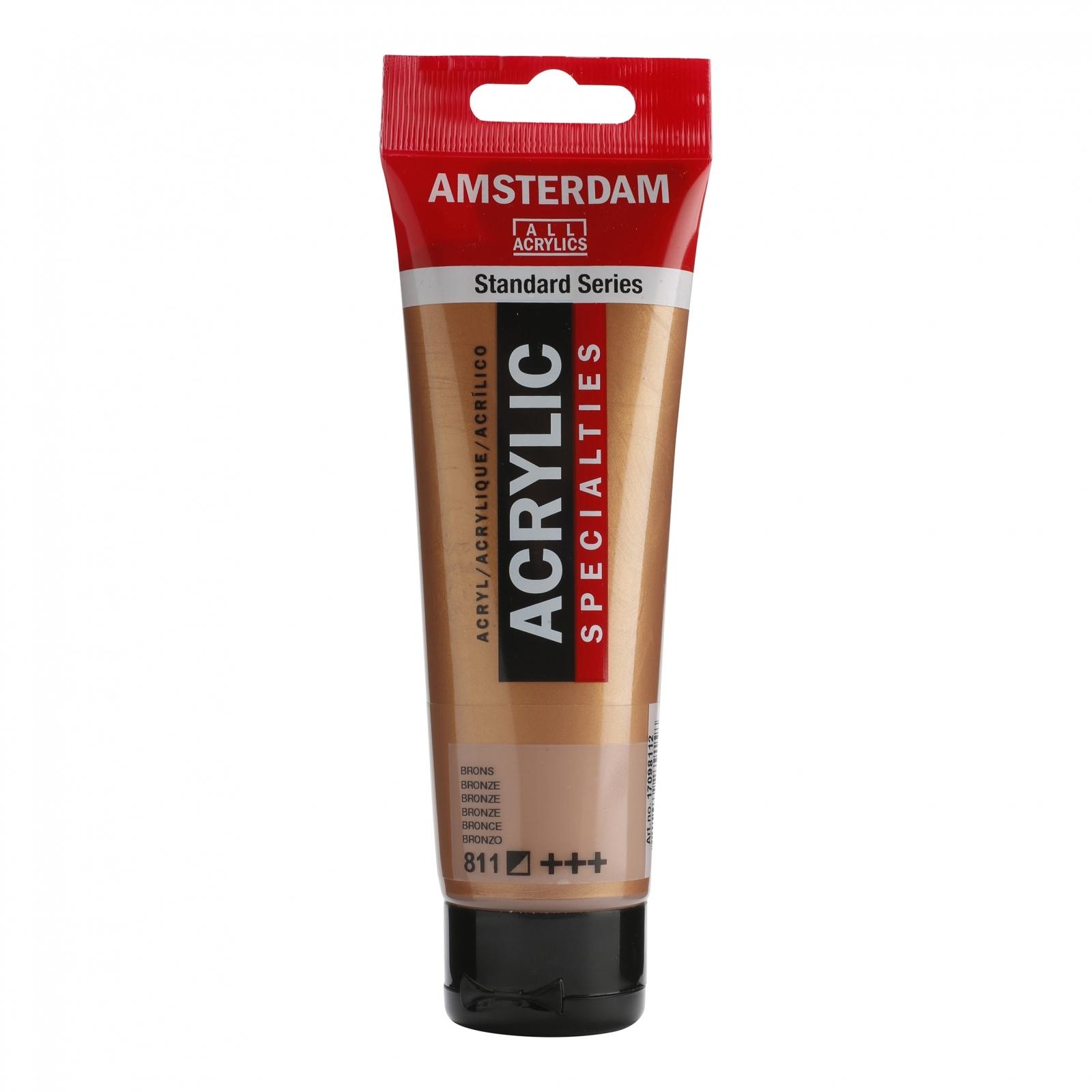 Tinta Acrílica Amsterdam Bronze 120ml (+++811) - Papelaria Botafogo