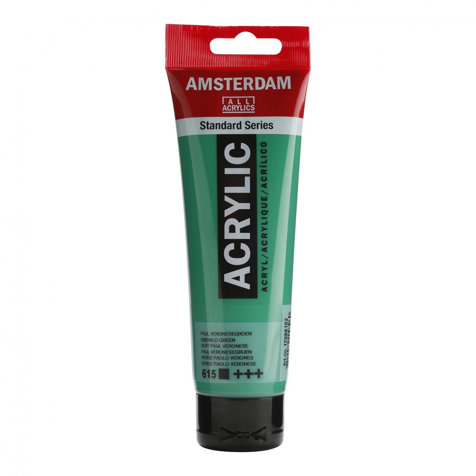 Tinta Acrílica Amsterdam Esmerald Green 120ml (+++615) - Papelaria Botafogo