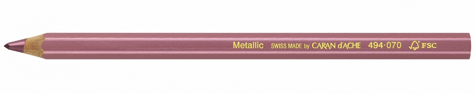 Lápis Maxi Jumbo Metallic Carandache 494 070 Lilas - Papelaria Botafogo