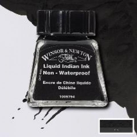 Tinta para Desenho Winsor & Newton Líquida Indiana 14ml (1005754) - Papelaria Botafogo