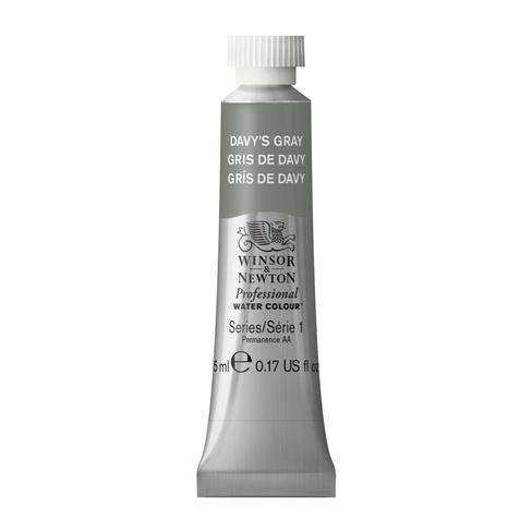 Tinta Aquarela Profissional Winsor & Newton Cinza Suave tubo 5ml S1 (0102217) - Papelaria Botafogo