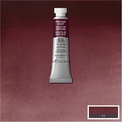 Tinta Aquarela Profissional Winsor & Newton Violeta Perileno tubo 5ml S2 (0102470) - Papelaria Botafogo