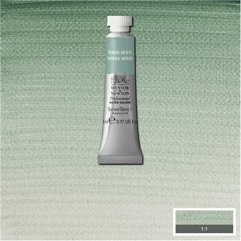 Tinta Aquarela Profissional Winsor & Newton Terra Verde tubo 5ml S1 (0102637) - Papelaria Botafogo