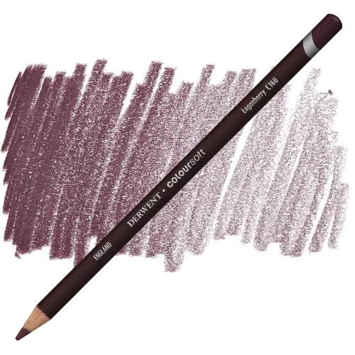 Lápis Coloursoft Derwent Loganberry (C160) un. - Papelaria Botafogo