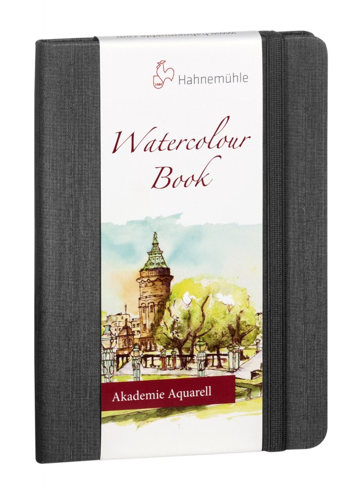 Watercolour Book A6 200g/m Capa Preta Retrato (10628813) - Papelaria Botafogo