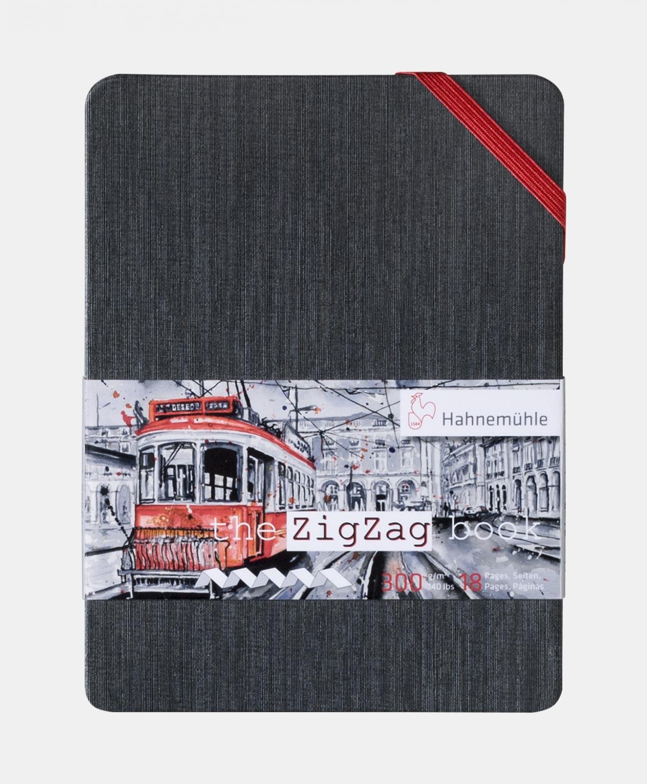 The ZigZag Book A6 300g/m (10625000) - Papelaria Botafogo