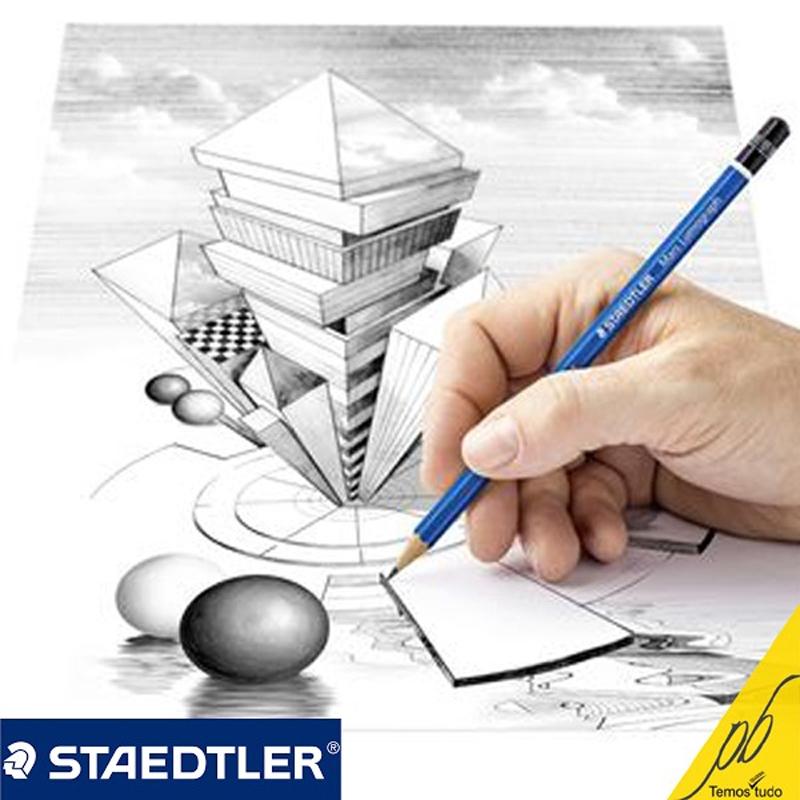 Lápis Lumograph HB Staedtler un - Papelaria Botafogo
