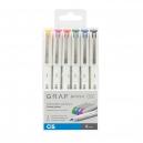 Cis Graf Brush Fine Estojo com 6 unidades