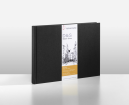 D&S SKETCH BOOK 140g/m CADERNO PRETO TAM A6 PAISAGEM 10628324
